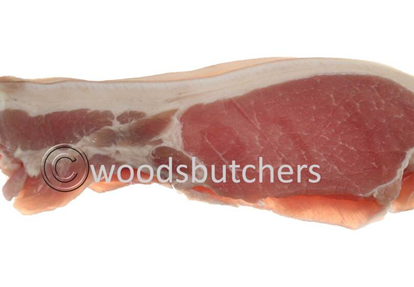 Free range green back Bacon
